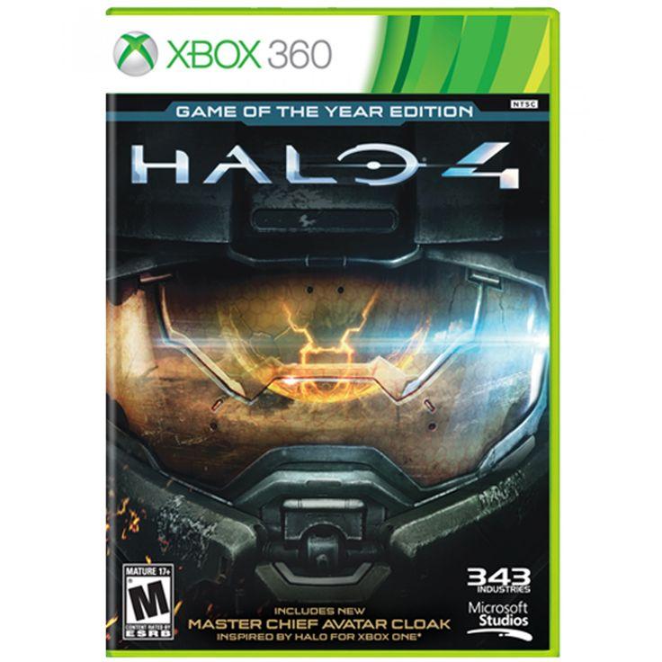 """Xbox 360 Halo 4 Game of the Year Edition. """"Halo 4"""" marca el comienzo de una nueva trilogía de la saga Halo una de las franquicias más importantes en la historia de los videojuegos con más de 42 millones de copias vendidas en todo el mundo. Desarrollado"""
