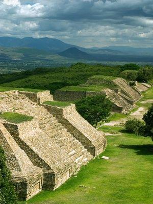 Oaxaca, Mexico -                                                                                 Monte Alban