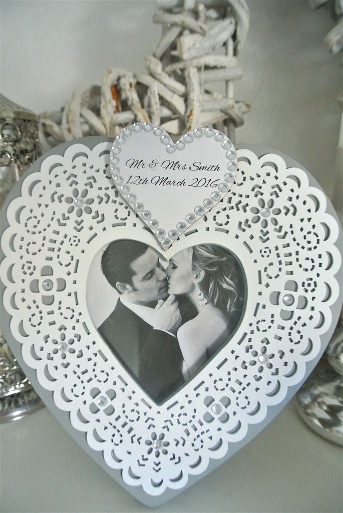 Lace Personalised Frame