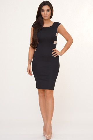 Posh X Back Dress