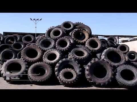 Reciclaje de neumáticos usados, ejemplo de economía circular