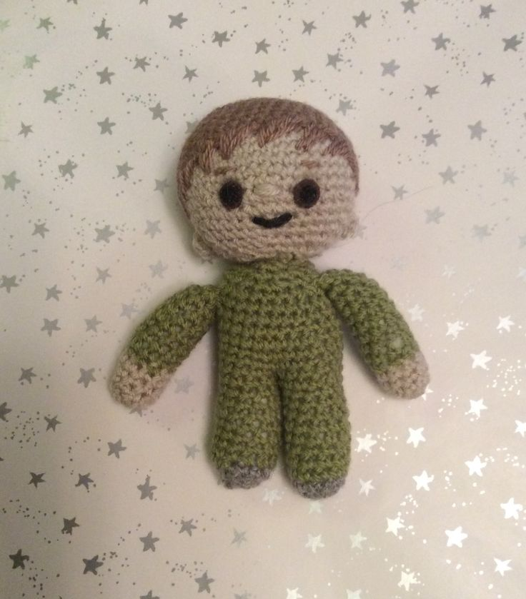 Charlie and the Numbers soft toy. Second try!