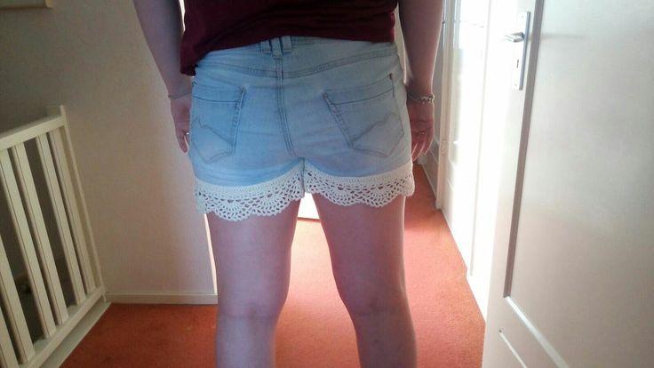 randje voor korte broek gehaakt (Rosalie)
