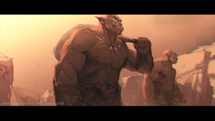 Impression of Warcraft Movie Trailer #8 by YanmoZhang on deviantART