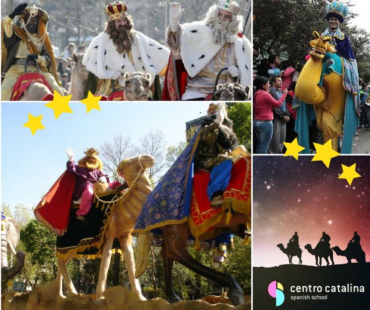 This weekend, the Three Wise Men arrived to Colombia! Do you also celebrate in your country? 🌟