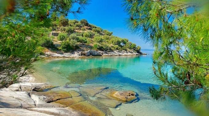 One of wild #beach in #Sithonia
