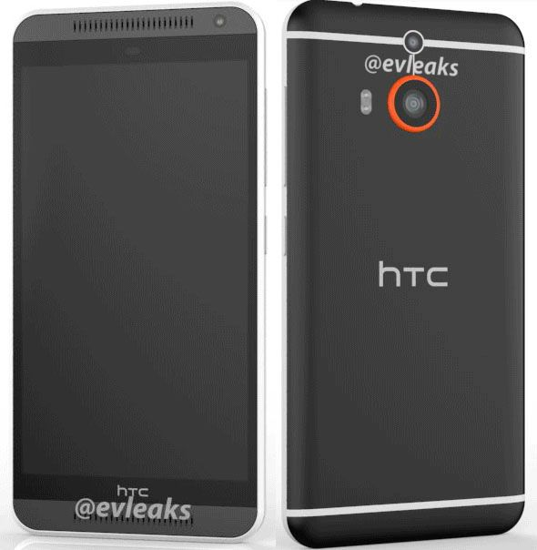 HTC One (M8) Prime apare într-o primă imagine randată via @evleaks