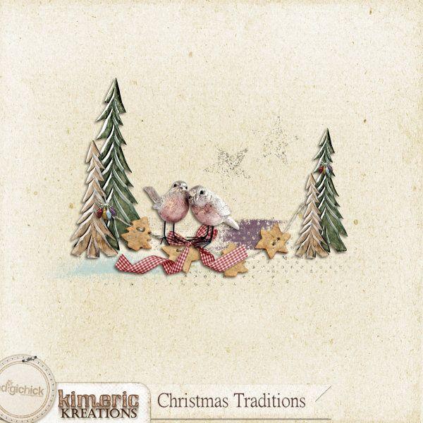 kimeric kreations: Christmas Traditions cluster to share tonight ! Christmas 2015