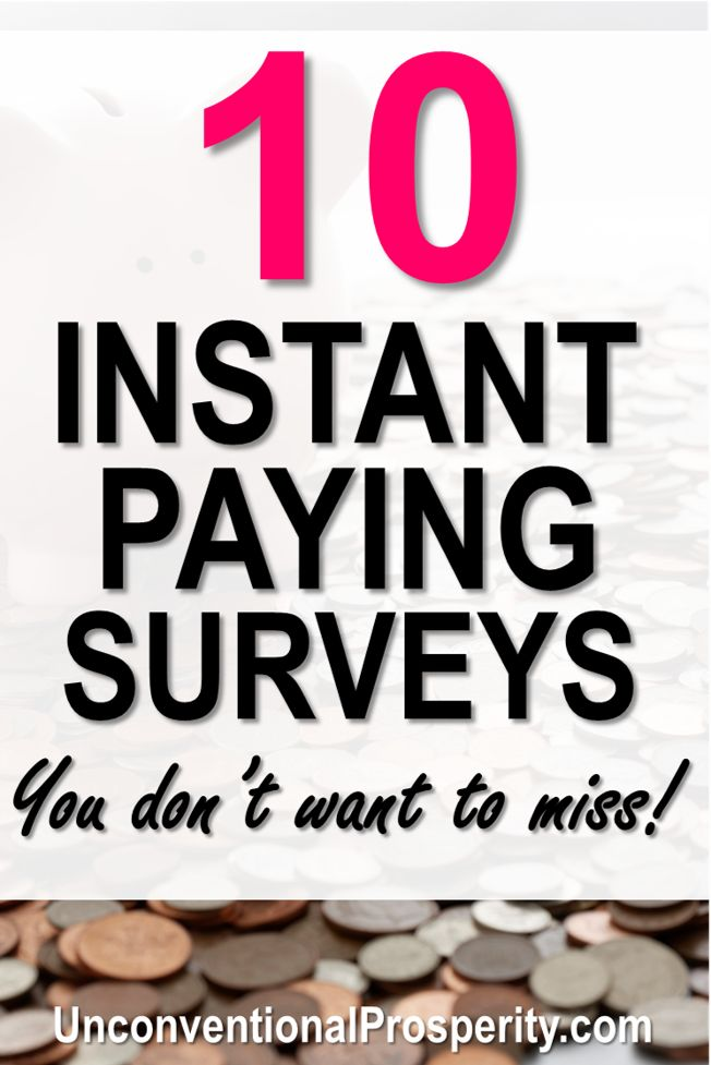 Top 10 FAST PAYING Survey Sites