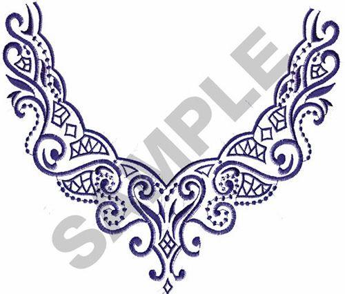BORDER #150 embroidery design