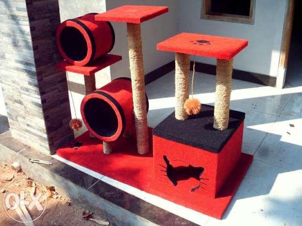 MAINAN KUCING/cat scratcher/cat condo/garukan kucing/rumah kucing