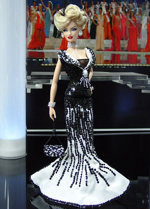 OOAK Barbie NiniMomo's Miss New Orleans 2010