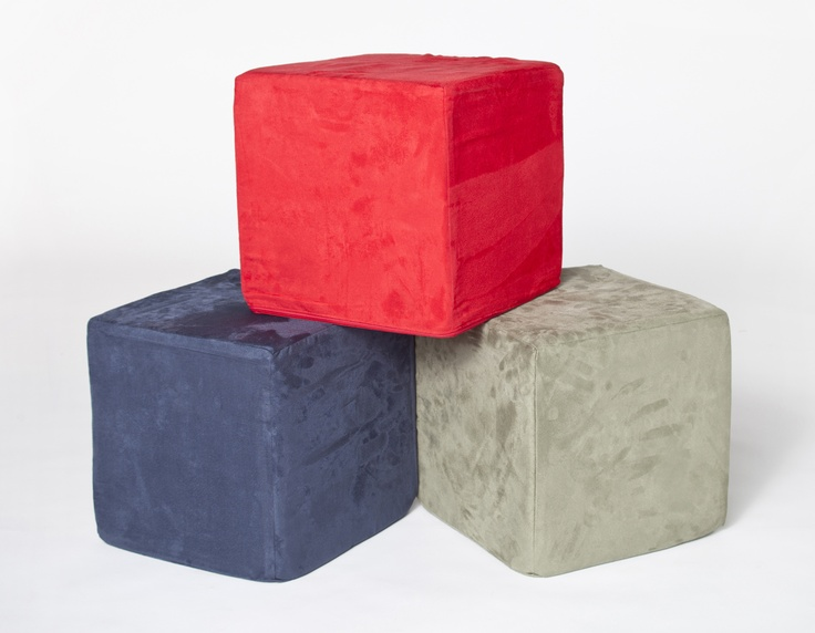 CUBESAC:     Wanting optional extras? Smaller and firmer than the Minisac, they are great to rest your feet on and sturdy enough to use as a side table. Cubesac's are also strong enough to make a nifty seat for a guest; a little cushie for the tushie.
