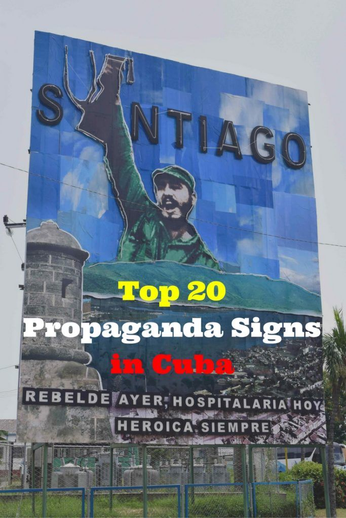 While the Cuban Revolution ended in 1959, in reality the Revolution is alive & well. Earlier this year we spent 1 month travelling around Cuba. While no corporate advertising is allowed in the country, Cubans are subjected to another brand of marketing – political propaganda from Fidel Castro's regime. Here are our Top 20 Propaganda Billboards in Cuba, in the order we saw the in, with the best Spanish translations we could muster!