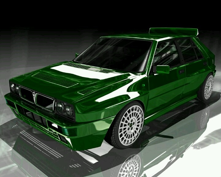 lancia delta integrale love that color