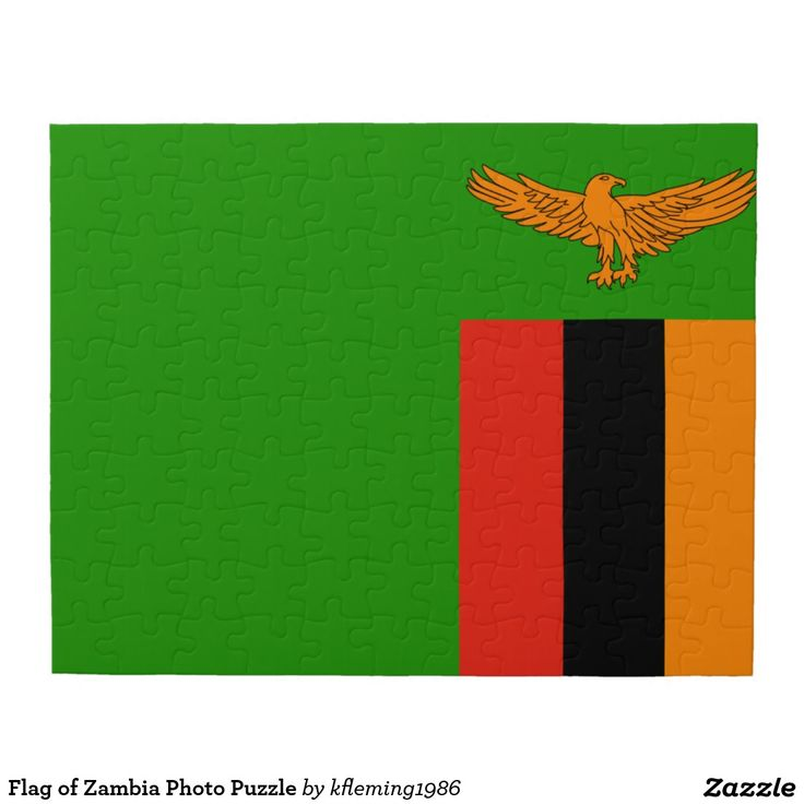 Flag of Zambia Photo Puzzle