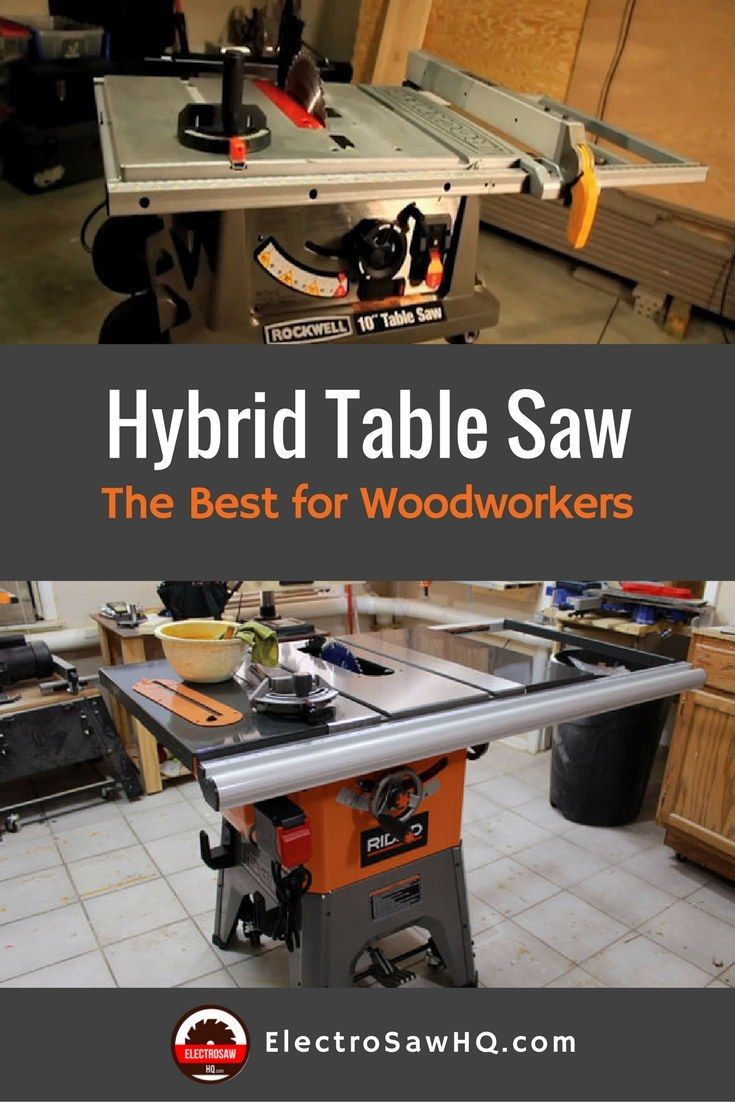 The Best Hybrid Table Saw Reviews For Woodworkers Hybrid Table Saw Table Saw Table Saw Reviews
