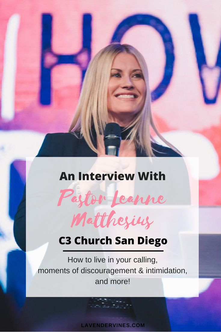 Interview with Pastor Leanne Matthesius | C3 Church San Diego | Christianity | Faith #christian #faith