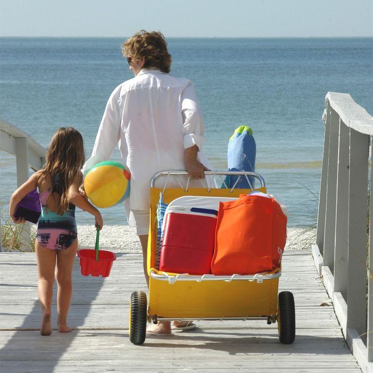 Utilacart® Folding Beach Cart