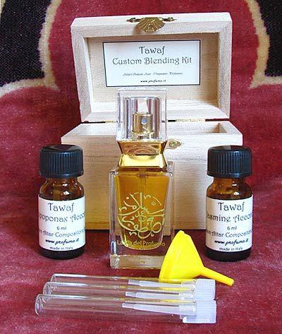 Natural perfume - Scents of the Soul - Tawaf Custom Blending Kit