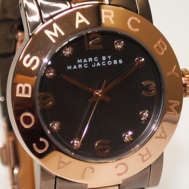 【楽天市場】MARC BY MARC JACOBS(マークバイマークジェイコブス) 時計 腕時計 MBM3195 ピンクゴールド/ブラウン コンビ レディース 【送料無料(※北海道・沖縄は525円)】【楽ギフ_包装選択】:タイムクラブ