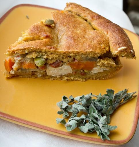 Several vegan thanksgiving recipes, including pot-pie-vegan #vegan #thanksgiving