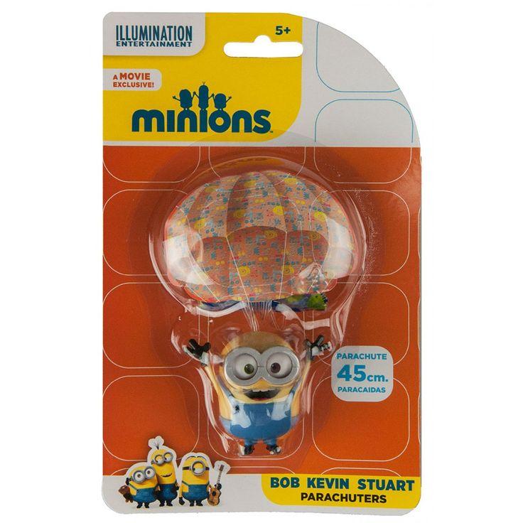 Minions Parachuter Bob from Funstra Toys