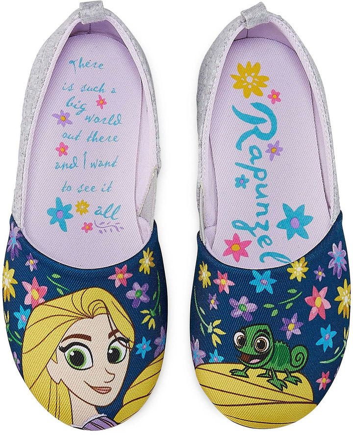 91bf0d86459 Disney Tangled Ballet Flats Big Kid Girls | Products | Girls dress ...