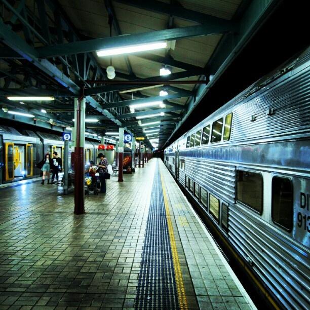 """Central Station""/""Sydney Terminal"" Platform 8"