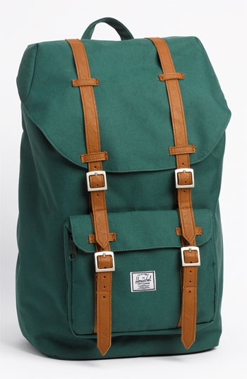 Herschel Supply Co. 'Little America' Backpack. Bought this a few weeks ago. It's perfect.
