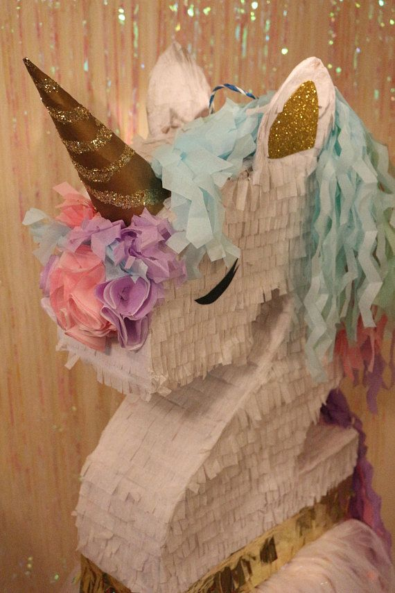 The 25 Best Unicorn Pinata Ideas On Pinterest Unicon