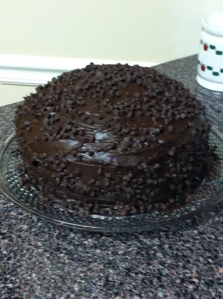 Red Lobster Chocolate Birthday Cake