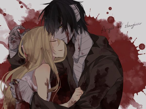 Check out freaky horror story on tinder here horror - Dark anime couples ...