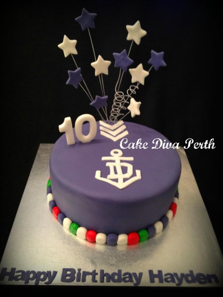1000 Images About Afl Fremantle Football Club Cakes
