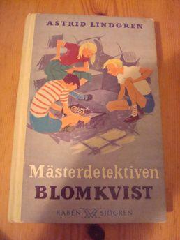 Astrid Lindgren: Mästerdetektiven Blomkvist | Harris Antik och Retro