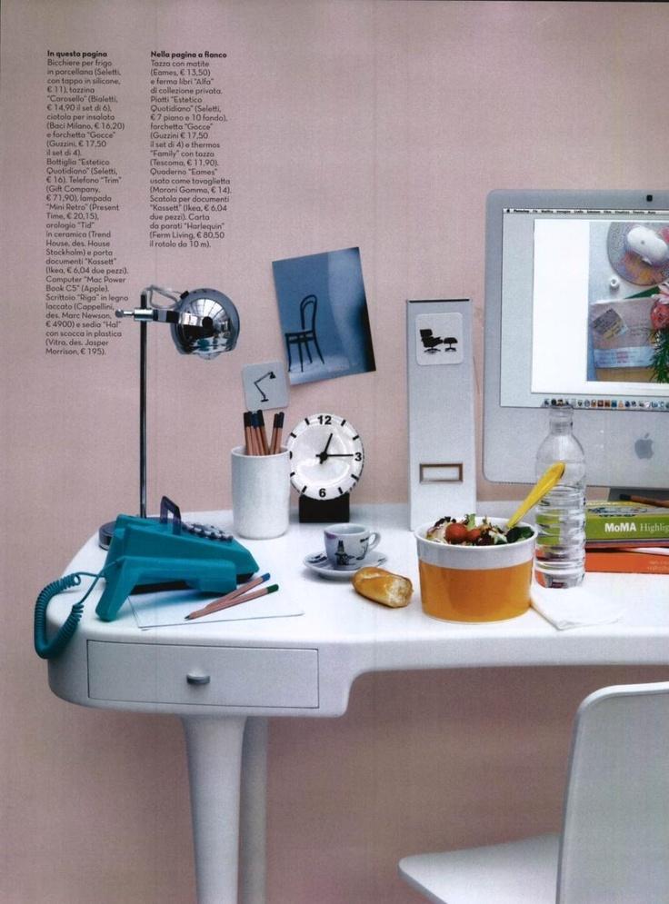 CAPPELLINI Riga desk by Marc Newson