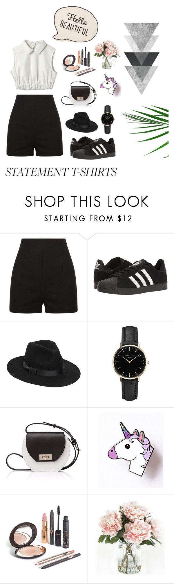 """""""Date with friend for carnaval"""" by damlastyle ❤ liked on Polyvore featuring adidas, Lack of Color, ROSEFIELD, Joanna Maxham and Home Decorators Collection"""