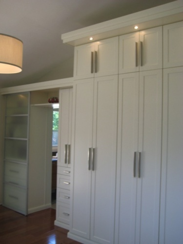 Custom Built In Modern Wardrobe By California Closets Toronto