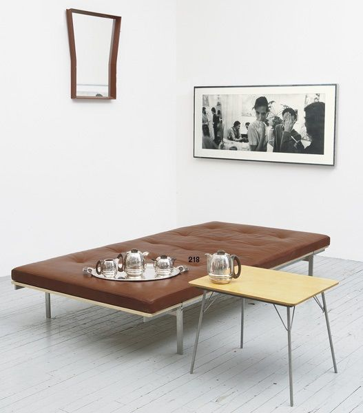Daybed by bo-ex furniture. Preben Fabricius & Jørgen Kastholm, 1964 http://www.bo-ex.dk/project/daybed/