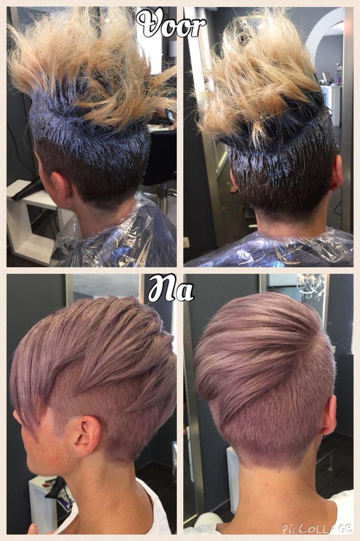 Violet blond