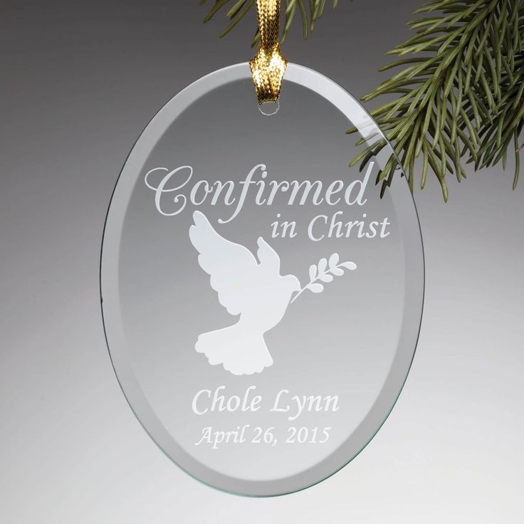 Personalized Baptism Cross Glass Ornament By Specialornaments: 13 Best Religious Gift Ideas Images On Pinterest