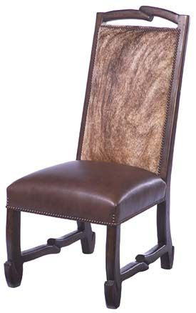 western dining chairs western chairs cowhide chair back and leather