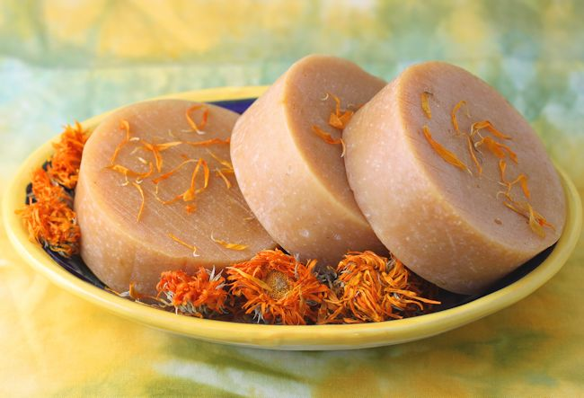 Sunny Calendula Goat's Milk Soap | Our Happy Acres