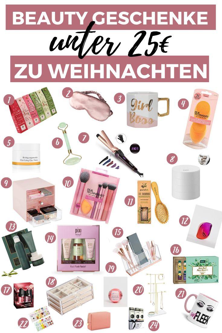 Weihnachten Beauty Geschenke unter 25€!