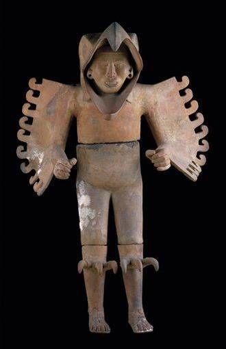 Guerrero águila- arte azteca