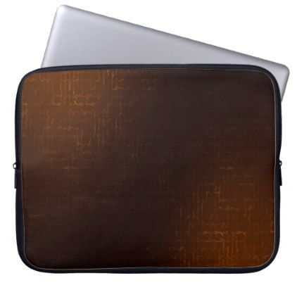 #Cascade (Orange) Neoprene Laptop Sleeve - cyo customize design idea do it yourself diy