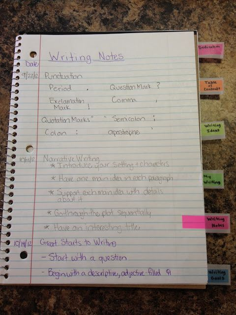 ~*~ Apples of Your Eye! ~*~: The Basics of Writer's Workshop notebook
