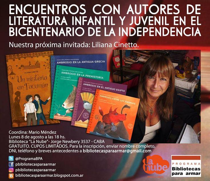 Encuentro con Liliana Cinetto | LITERARIAS | Por Gabriela Mariel Arias