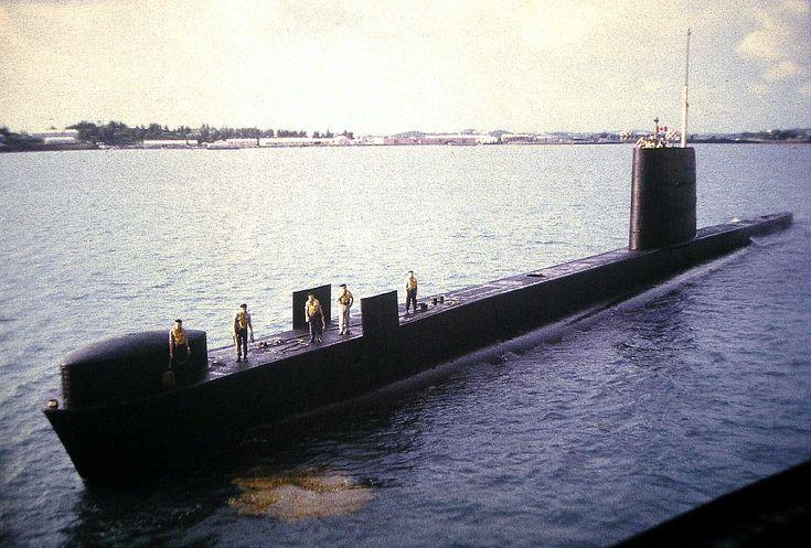 canadian submarine bermuda | October, 1970: Port visit to St George's, Bermuda on HMCS Okanagan.