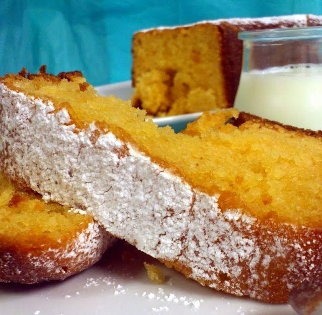 Bizcocho de limón en panificadora | La Caja de las Delicias